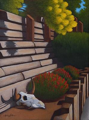 Painting - Rustic Garden by Gayle Faucette Wisbon