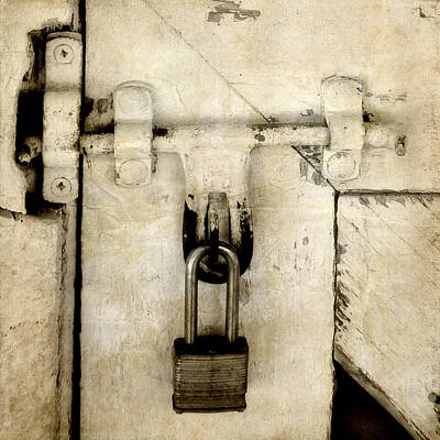Rustic Lock Out Art Print