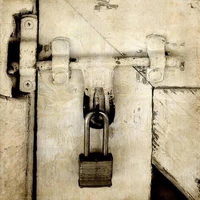 Photograph - Rustic Lock Out by Davina Washington