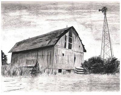 Red Barn Drawings