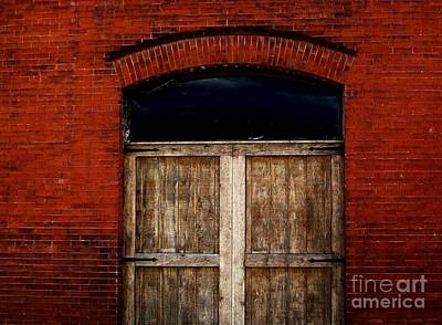 Histogram Photograph - Rustic Old Warehouse by Marsha Heiken