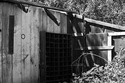Photograph - Rustic Shed by Richard J Cassato