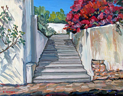 Rustic Steps Original