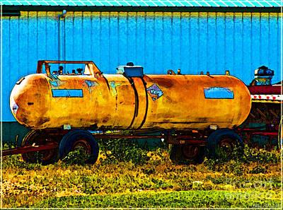 Photograph - Rustic Tank Art by Debbie Portwood