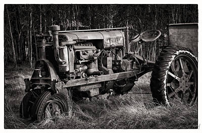 Mountain Photograph - Rustic Tractor by Gene Tewksbury