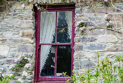 Photograph - Rustic Window  by Mary Carol Story