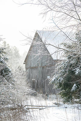 Photograph - Rustic Winter by Cheryl Baxter
