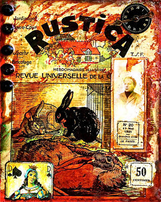 Mixed Media - Rustica by Bellesouth Studio