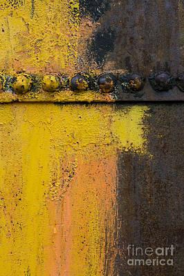 Rusting Machinery Art Print by John Shaw