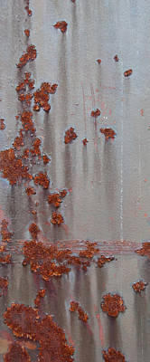 Photograph - Rusty Abstract by Jani Freimann