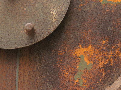 Rusty Abstraction Art Print