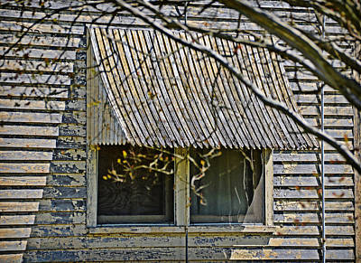 Photograph - Rusty Awning by Linda Brown