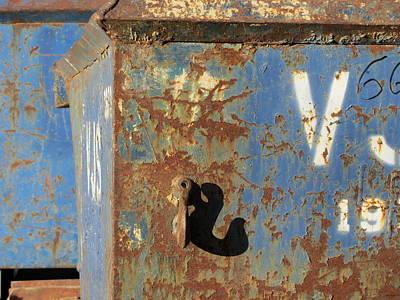 Photograph - Rusty Bins 2 by Anita Burgermeister