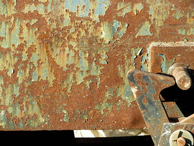 Photograph - Rusty Bins 5 by Anita Burgermeister