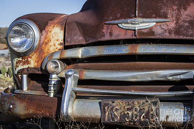 Photograph - Rusty But Trusty Chevy by Amber Kresge