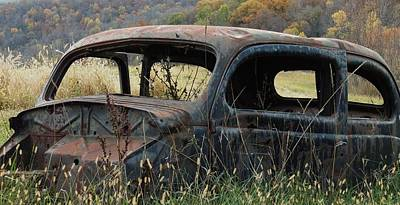 Photograph - Rusty Car One by Todd Sherlock