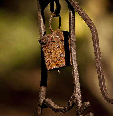 Photograph - Rusty Chime Bell 2 by Ron Roberts