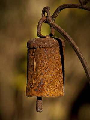 Photograph - Rusty Chime Bell by Ron Roberts