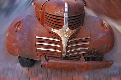 Photograph - Rusty Dodge II by Dragan Kudjerski