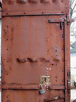 Rusty Door 2 Art Print by Anita Burgermeister