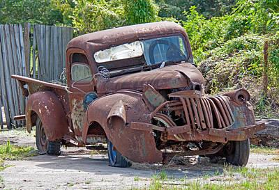 Photograph - Rusty Gold - Forgotten Treasure by John Black