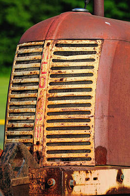 Photograph - Rusty Grill by John Kiss