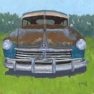 Painting - Rusty Hudson by David King
