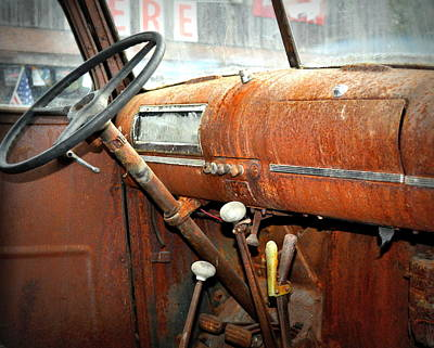 Photograph - Rusty Interior by Marty Koch