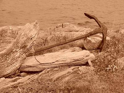 Art Print featuring the photograph Rusty by Jean Goodwin Brooks