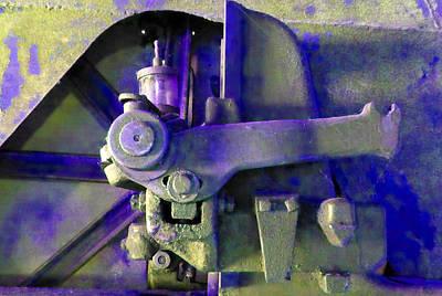 Rusty Machinery Art Print by Laurie Tsemak