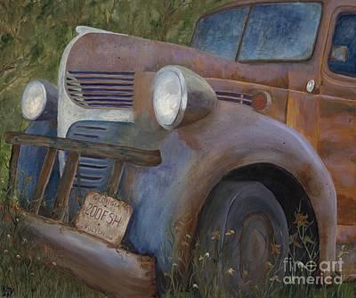 Rusty Memories Art Print by Catherine Davis