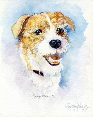 Paws Painting - Rusty Mortimer by Kimberly McSparran