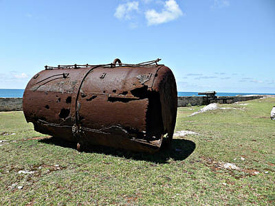 Photograph - Rusty Old Boiler by Richard Reeve
