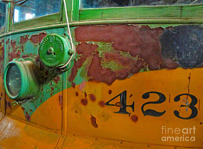 Photograph - Rusty Old Bus by Gregory Dyer