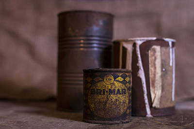 Photograph - Rusty Old Cans by Andrew Pacheco