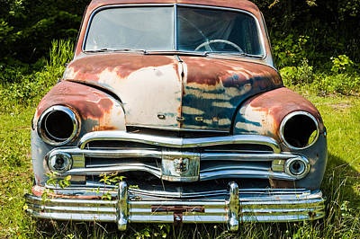 Photograph - Rusty Old Car by Michele Wright