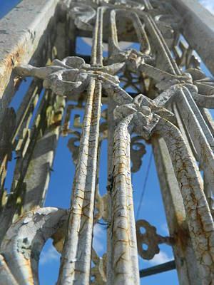 Rusty Pillar Art Print