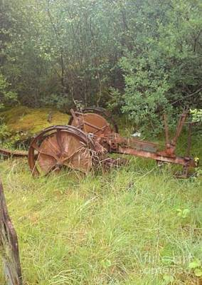 Photograph - Rusty Plough by John Williams