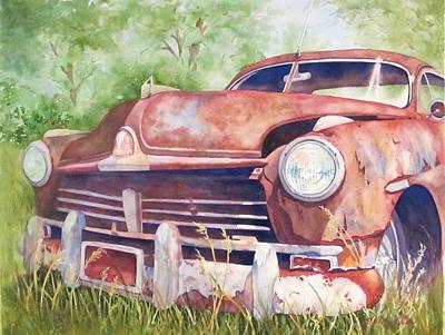 Rusty Relic Art Print