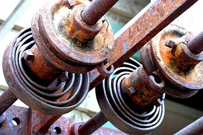 Photograph - Rusty Relics by Charlie and Norma Brock