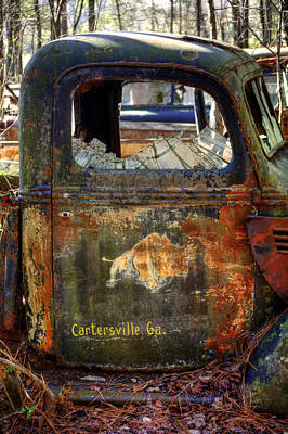 Old Photograph - Rusty Rino by Greg Mimbs