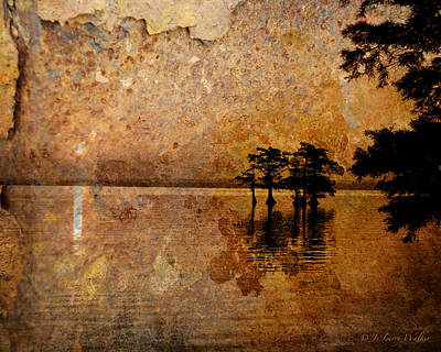 Digital Art - Rusty Sunrise by J Larry Walker