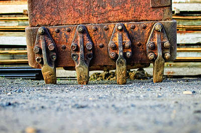 Photograph - Rusty Teeth by Steve Stanger