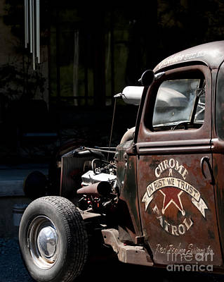 Photograph - Rusty Transportation by Wilma  Birdwell