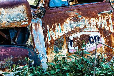 Photograph - Rusty Truck #1 by Ben Graham
