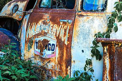 Photograph - Rusty Truck #2 by Ben Graham