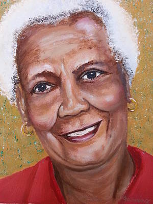 Painting - Ruth Aker by Brenda Stevens Fanning