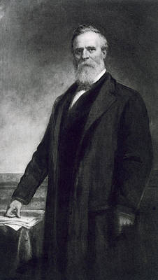Statesmen Painting - Rutherford B Hayes by Daniel Huntington