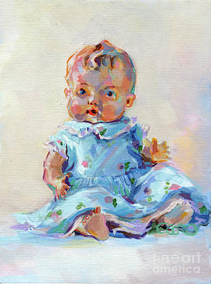 Kids Toys Painting - Ruthie by Kimberly Santini