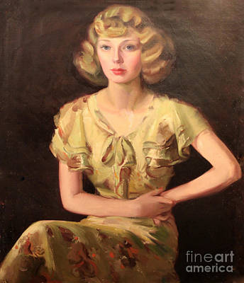Painting - Ruth's Attitude 1929 by Art By Tolpo Collection